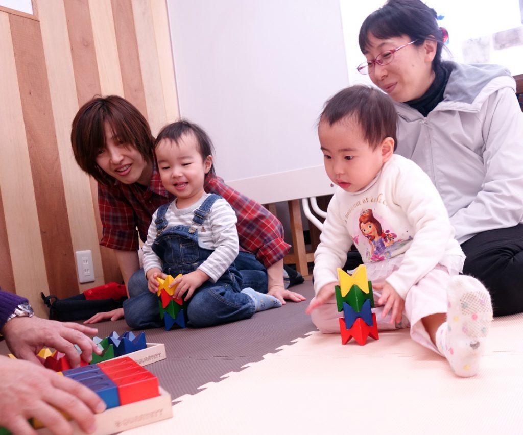 幼児教室 積木
