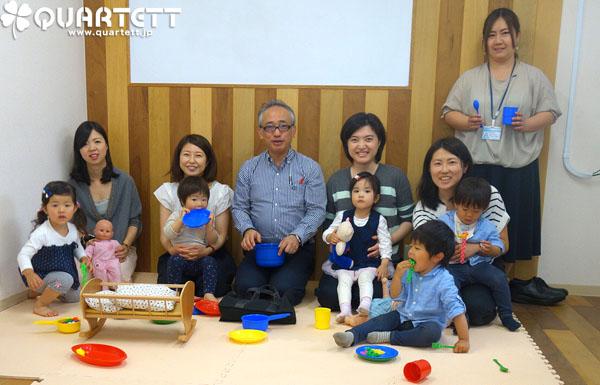 ★増席★じっくり遊ぶカルテット幼児教室【東京】6月開催のお知らせ